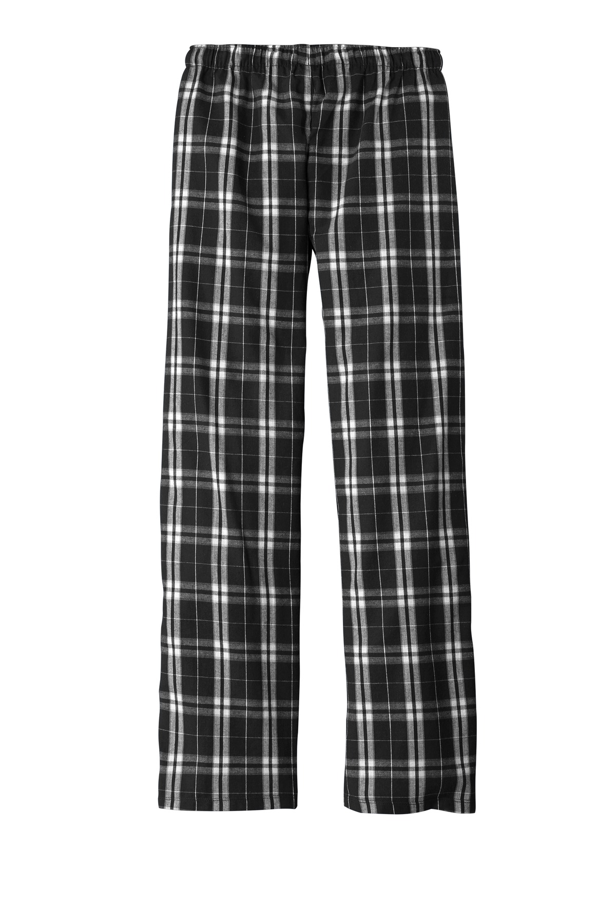 District Womens Flannel Plaid Pant Flannel Plaid Pant DT2800-Women/'s
