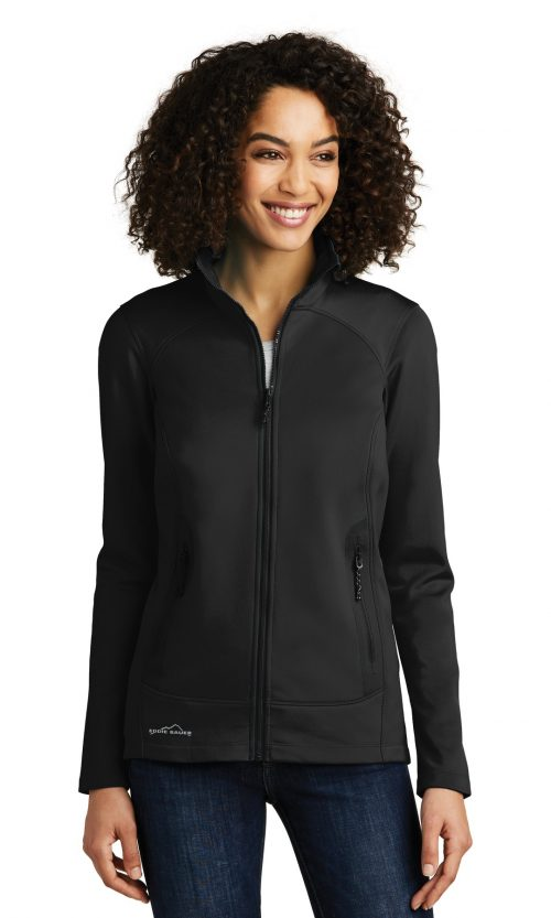 d473b5931c7 Eddie Bauer ® Ladies Dash Full-Zip Fleece Jacket. EB243 - Custom ...