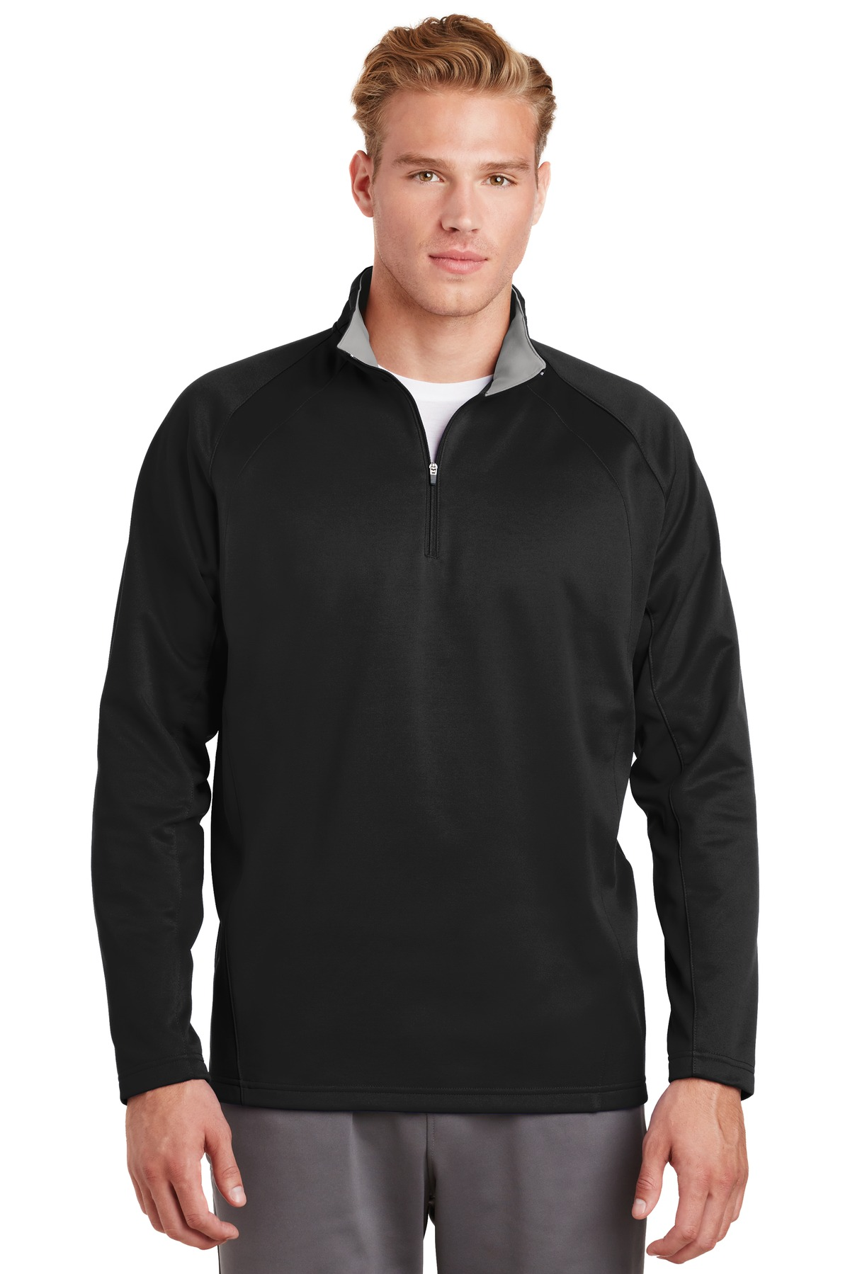 Sport Tek Sport Wick Fleece Hooded Pullover F244 Custom Shirt Shop Please note that only one logo can be displayed on a product at any one time. sport tek sport wick fleece hooded