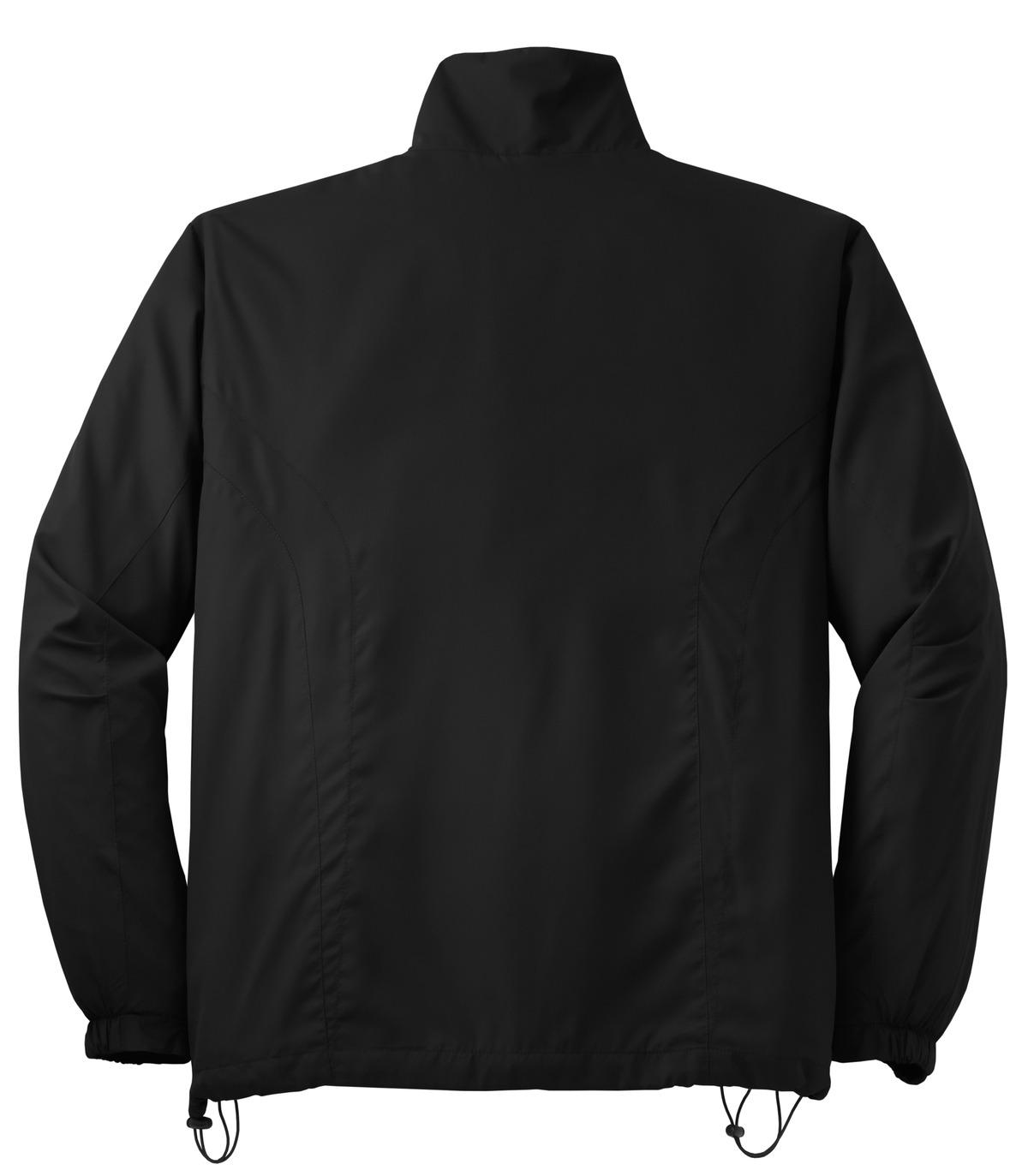 Full-Zip Wind Jacket-M Forest Green Sport-Tek