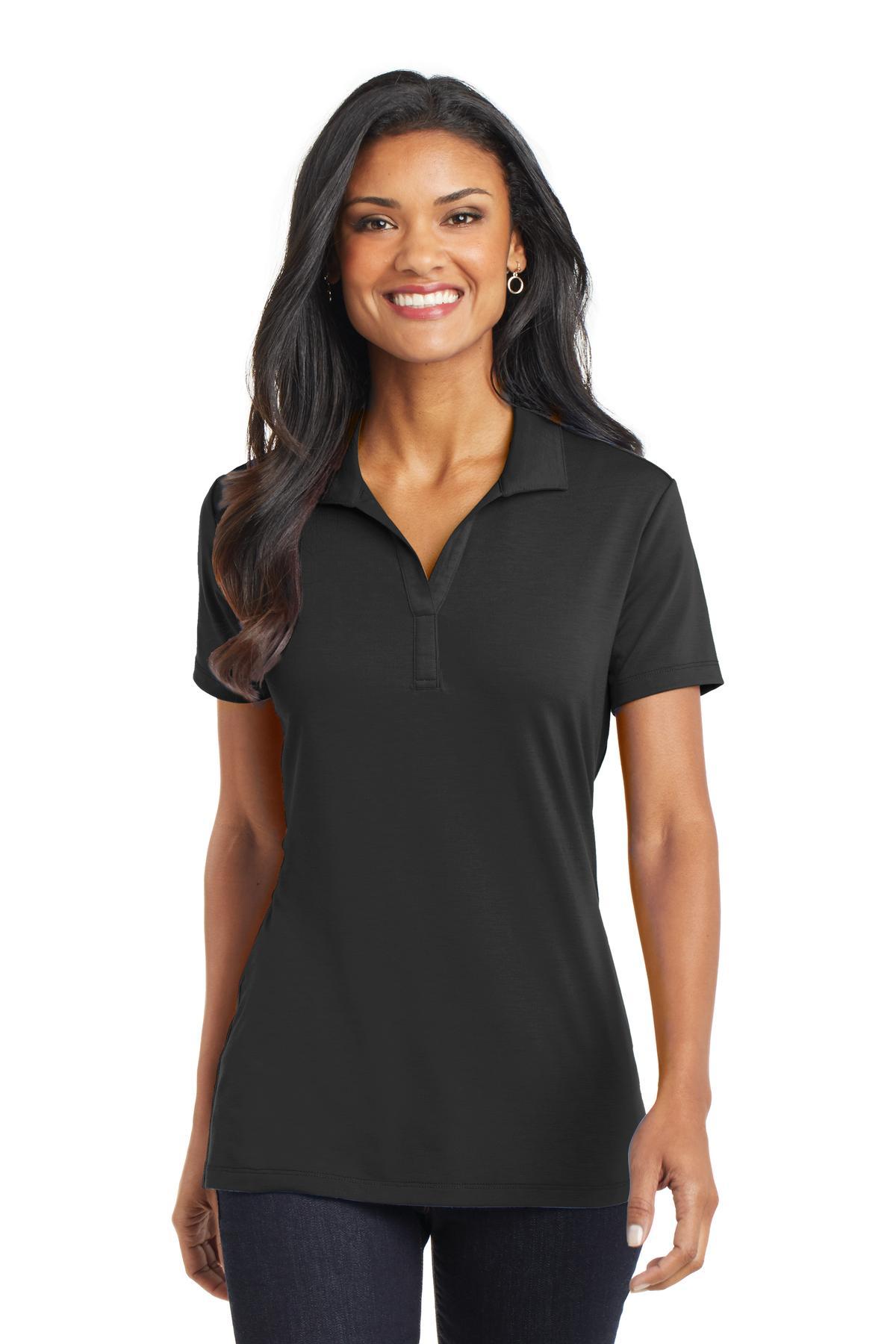 Port Authority Womens Performance Texture Polo Shirt