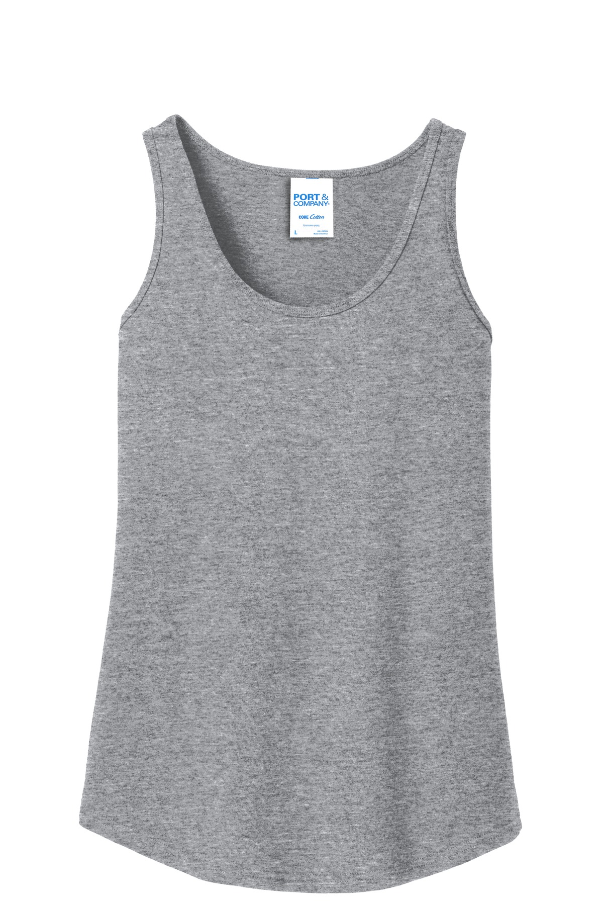 LPC54TT Port /& Company Ladies Core Cotton Tank Top