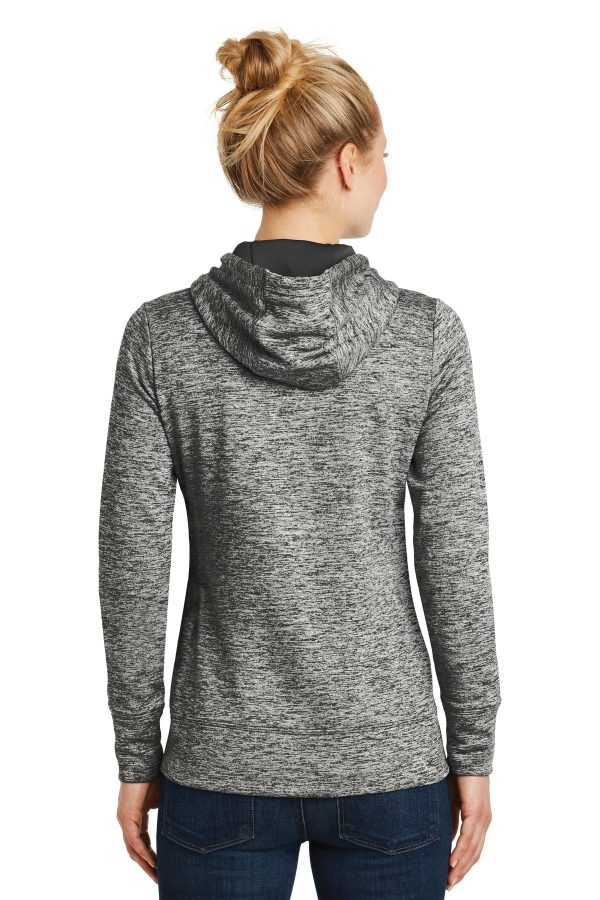 ce629cb31b0 ... Sport-Tek ® Ladies PosiCharge ® Electric Heather Fleece Hooded Pullover.  LST225. Previous  Next