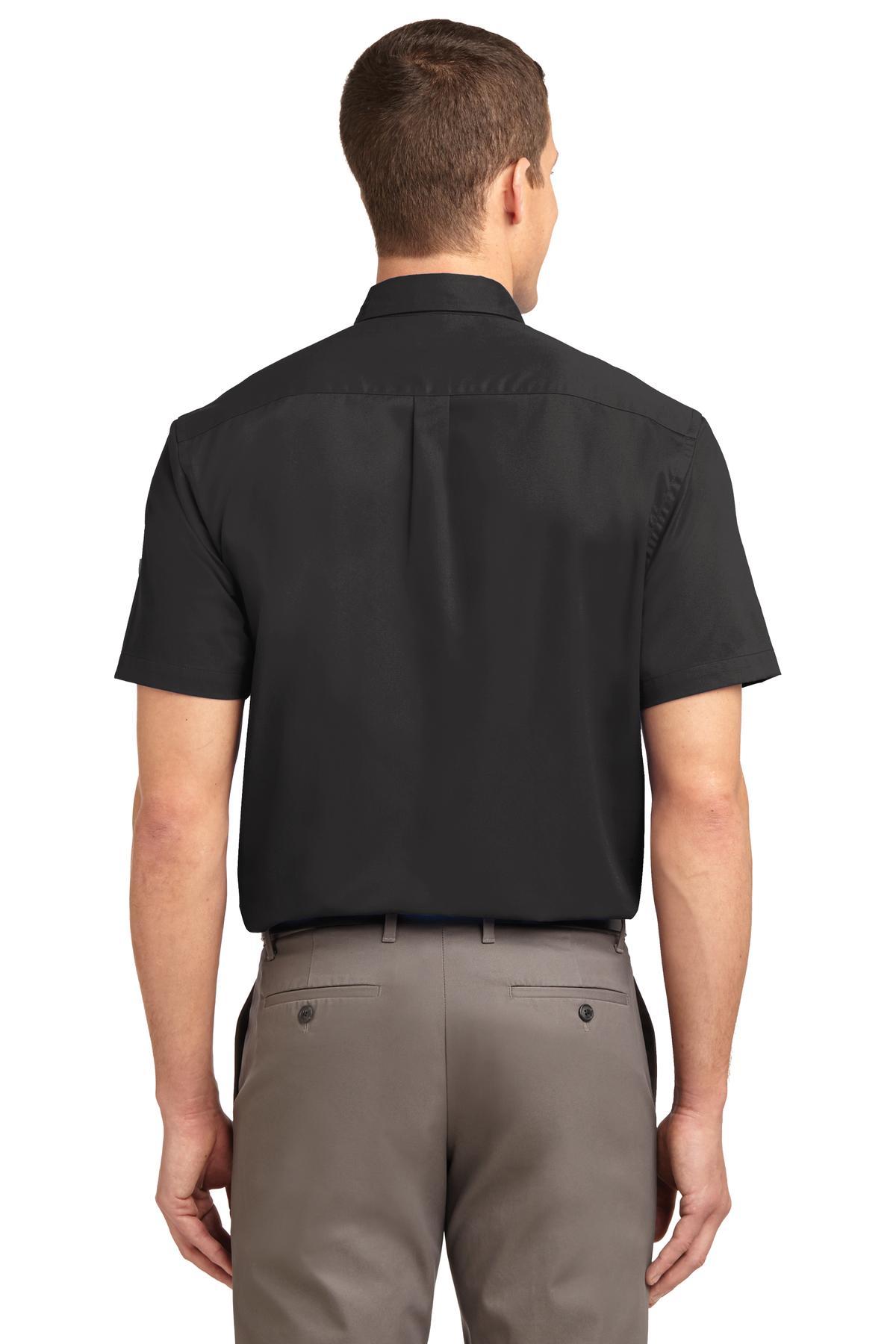 Port Authority Maui Blue // Maui Blue -... S508 Short Sleeve Easy Care Shirt